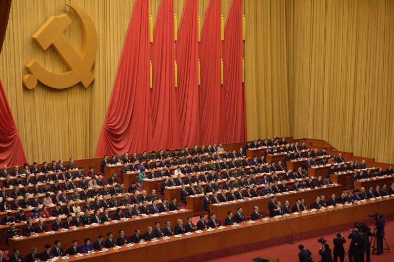Kiinan kommunistisen puolueen 19. puoluekokous keräsi 2 280 puolueen riveistä valittua edustajaa maan tärkeimpään poliittiseen tapahtumaan. Kuva: Lehtikuva / AFP