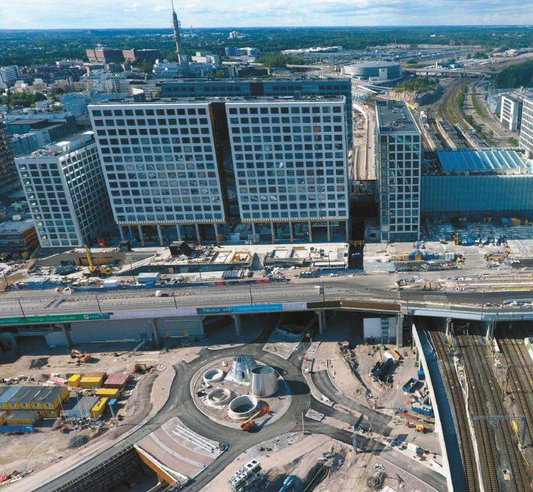 Kauppakeskus Triplan alue Helsingin Pasilassa. Kuva: Vesa Moilanen/Lehtikuva