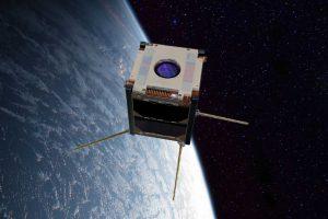 Suomi 100 -sateliitti avaruudessa