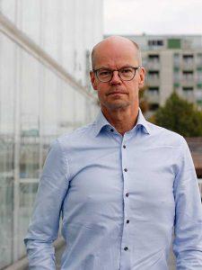 Kirjoittaja Olli-Pekka Heinonen. Kuva: Dana Rautelin