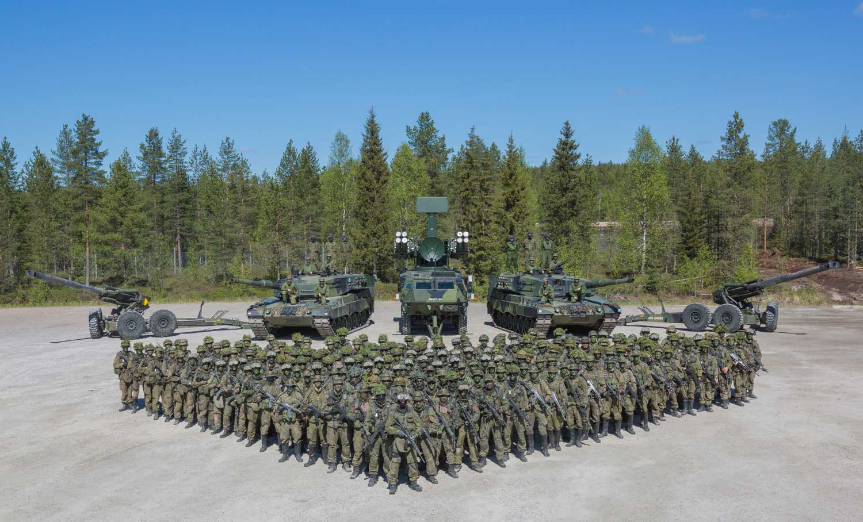 Puolustusvoimien valmiusyksiköitä on ollut perustettuina kesästä 2017 alkaen. Kuva: Puolustusvoimat