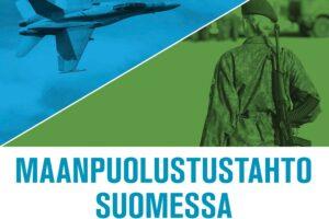 Maanpuolustustahto Suomessa -kirjan kansi